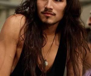 guy, long hair, and man image