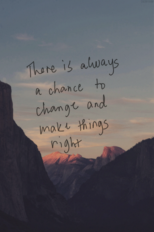 There Is Always A Chance Via Tumblr On We Heart It