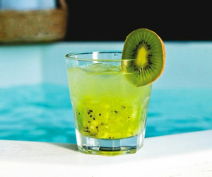 drink, kiwi, and summer image