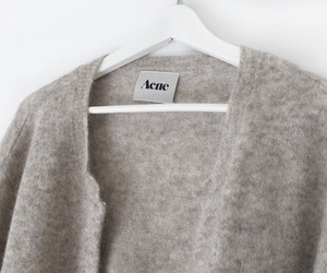 acne, fashion, and cardigan image