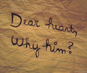 love, heart, and him image