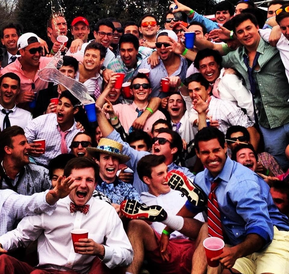 college, frat, and fun image