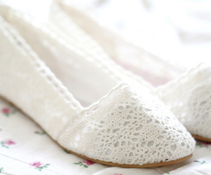 shoes, fashion, and lace image