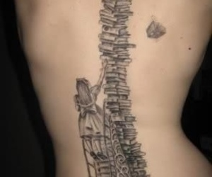 tattoo and book image