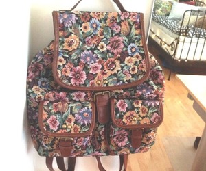 backpack, pretty, and fashion image