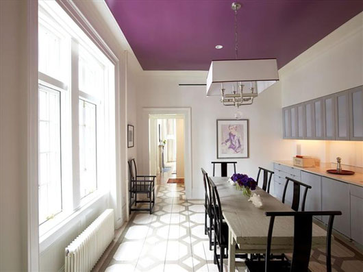 Cool Ceiling Paint Color Ideas For Living Room