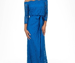 lace evening dresses and modest evening dresses image