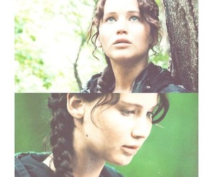 katniss everdeen, girl, and the hunger games image