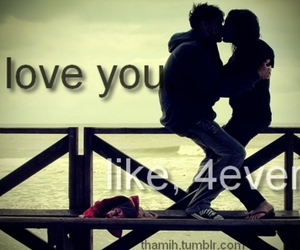 couple, forever, and I Love You image