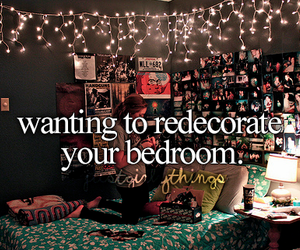bedroom, room, and decorating image