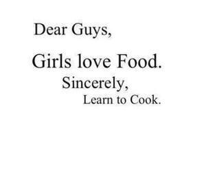 food, girl, and love image