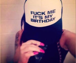 baby, fuck me, and birthday image