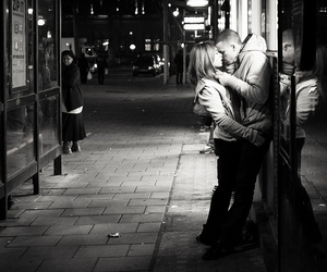 50mm, bw, and kiss image