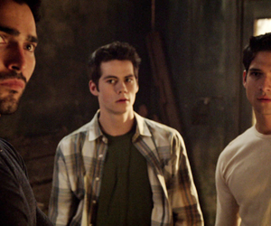 teen wolf, stiles, and derek hale image