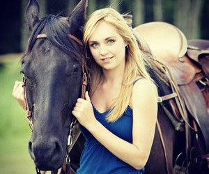 family, horses, and serie image