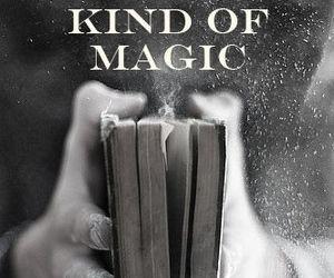 book, magic, and kindle image