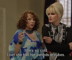 absolutely fabulous, blonde, and britain image