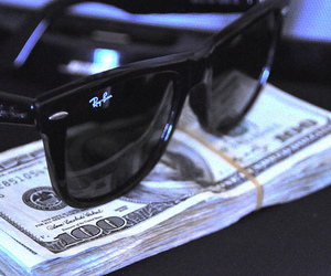 money and sunglasses image