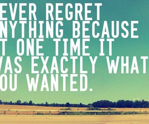 quote and regret image