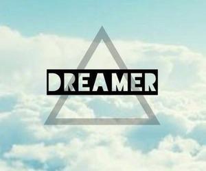 dreamer, sky, and Dream image
