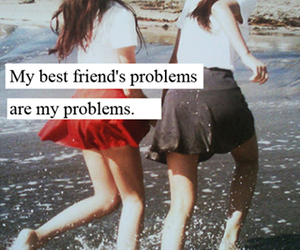 Best, girls, and problems image