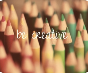 be, pencils, and creative image