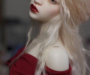 doll, hair, and photography image