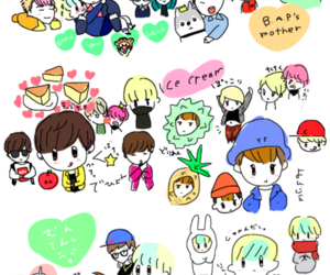 fanart, zelo, and b.a.p image
