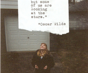 quote, oscar wilde, and stars image