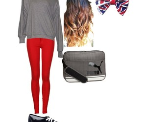 fashion, heart, and Polyvore image