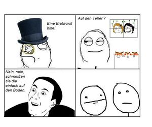 floor, poker face, and rage comic image