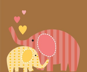 elephant, wallpaper, and cute image