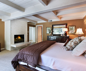 luxury, room, and bed image
