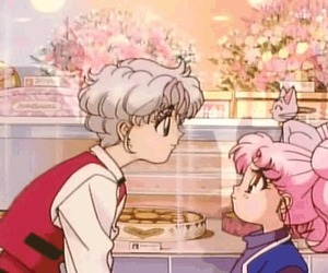 anime, sailor moon, and chibiusa image