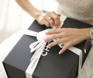 chanel, gift, and wedding image