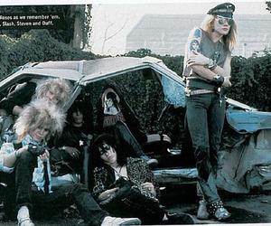 axl rose, Guns N Roses, and slash image