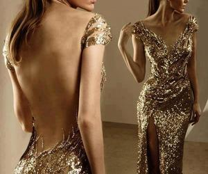 classic, gold, and dress image