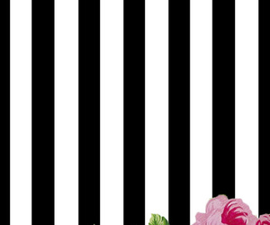 flowers and stripes image