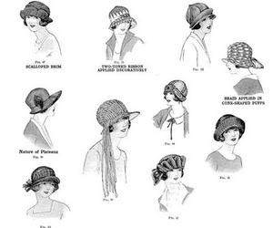 hats and vintage image