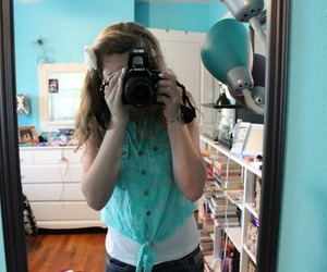 canon, mirror, and photography image