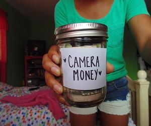 camera, money, and camera money image
