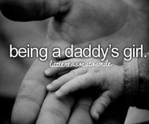 girl, love, and daddy image