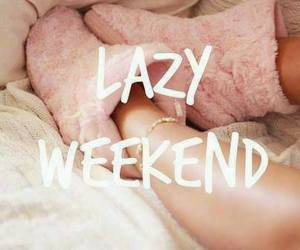 life and lazy weekend image