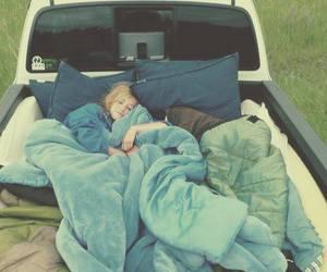sleep and car image