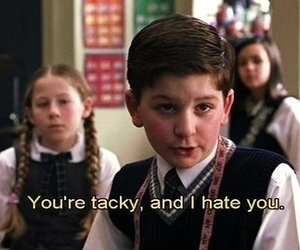 school of rock, tacky, and funny image