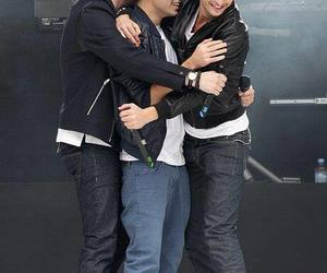 jay, nathan, and tom the wanted image