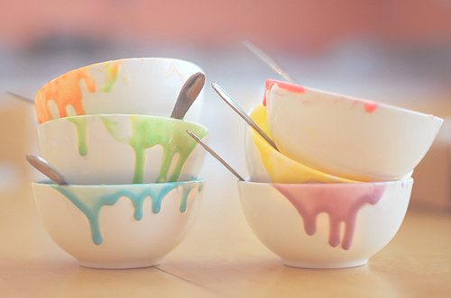 pastel, rainbow, and colors image