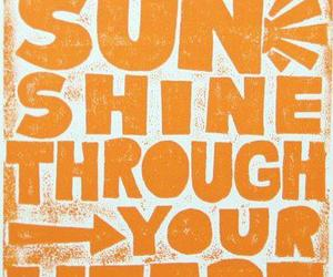 sun, heart, and quote image