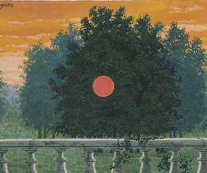 art, painting, and magritte image