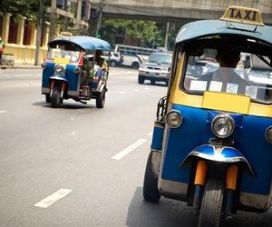 thailand and tuk tuk image